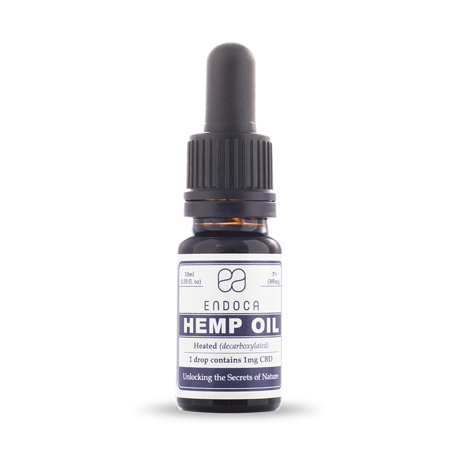 CBD kenderolaj 3% 300mg 10ml ENDOCA