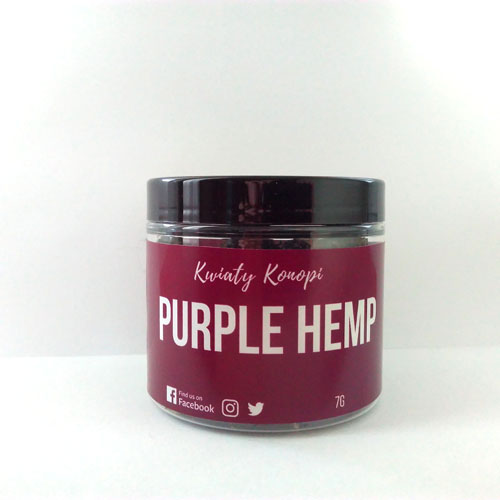 CBD Hemp Purple virágok 7g Hemp Yourself