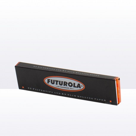 Cigaretta papírok orange + cigaretta szűrők 32db Futurola