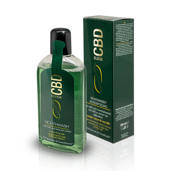CBD szájvíz Elixír 25mg 250ml Pharma Hemp