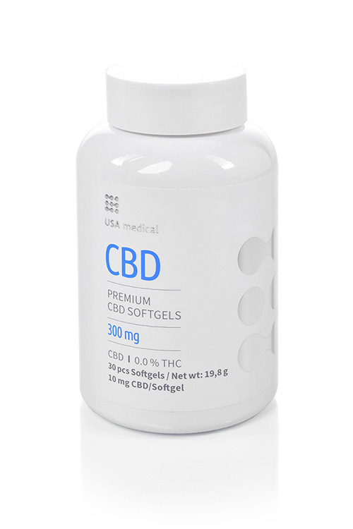 CBD kapszula 300mg USA MEDICAL
