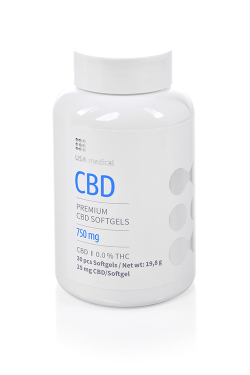 CBD kapszula 750mg USA MEDICAL