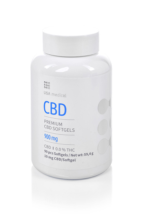 CBD kapszula 900mg USA MEDICAL