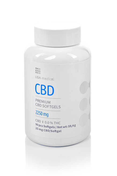 CBD kapszula 2250mg USA MEDICAL