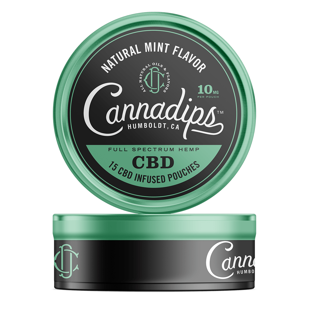 Nartural Mint 150mg CBD Cannadips