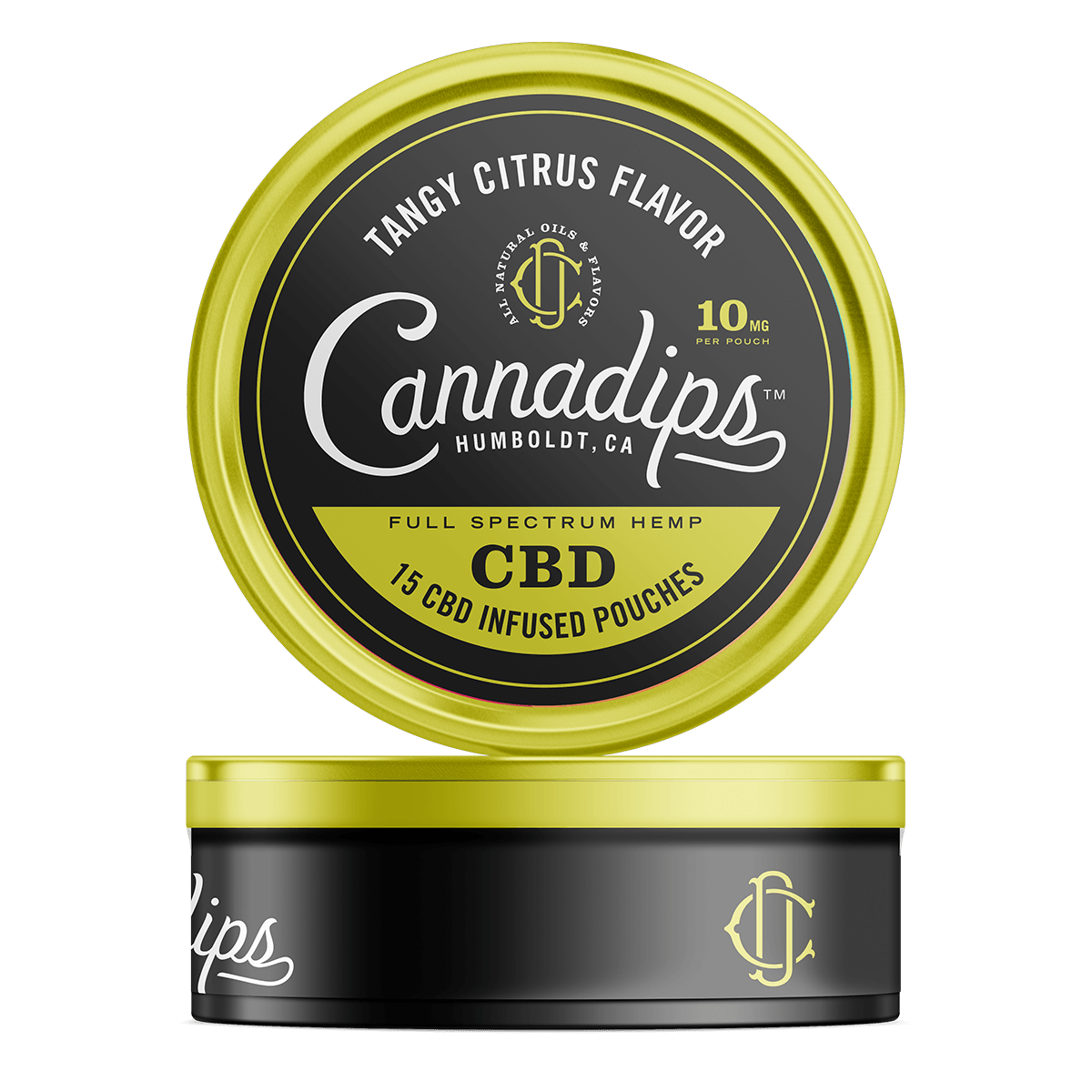 Tangy Citrus 150mg CBD Cannadips