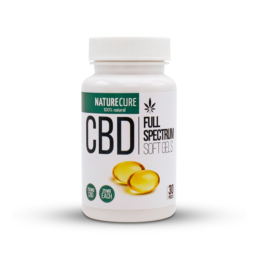 CBD kapszula full spectrum 750mg 30db NATURE CURE